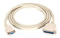 Premium RS232 AT Modem Cable DB9F/DB25M 6Ft.