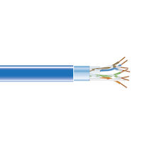 CAT5e 350-MHz Solid Ethernet Bulk Cable - Shielded (F/UTP), CMR PVC, 1000-ft. (304.8-m) Spool