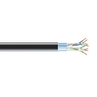 CAT5e 350-MHz Bulk Cable - Solid, Shielded, PVC