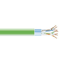 CAT5e 350-MHz Bulk Cable - Solid, Shielded, Plenum