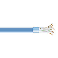 CAT6 400-MHz Solid Ethernet Bulk Cable - Shielded (F/UTP), CMP Plenum, 1000-ft. (304.8-m) Spool