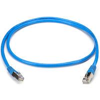 CAT5e 100-MHz Snagless Solid Ethernet Patch Cable - Shielded (S/FTP), CMP Plenum (RJ45 M/M)