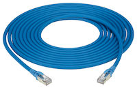 GigaTrue® CAT6A 550-MHz Snagless Stranded Ethernet Patch Cable - Shielded (F/UTP), LSZH (RJ45 M/M)