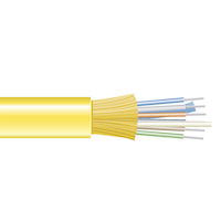 OS2 9-Micron Single-Mode Fiber Optic Bulk Cable - Indoor, Distribution-Style, OFNP Plenum
