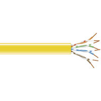 GigaBase® CAT5e 200-MHz Bulk Cable - Solid, Unshielded, PVC