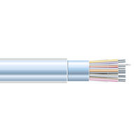RS-232 Plenum Cable, Office Environment, 25 Conductors (12 1/2 Pairs), Custom Lengths