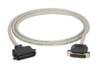 IBM Parallel Printer Cable - DB25 Male, Centronics Male, 6-ft.