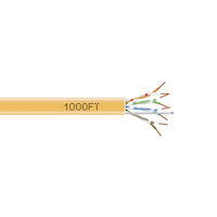 GigaBase® CAT5e 350-MHz Bulk Cable - Solid, Unshielded, Plenum
