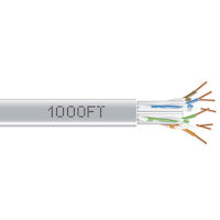 GigaTrue CAT6 550-MHZ Bulk Cable - Solid, Unshielded, PVC