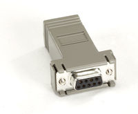 Microswitch AT Adapter DB9 F To RJ45