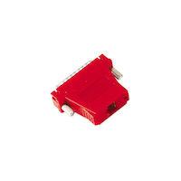 Modular Adapter Kit DB25M To RJ-45F W/ Thumbscrews Red