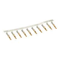 Crimp Pins D Sub Female 10-Pack