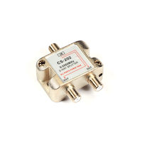 2-GHz Cable/Satellite TV Signal Splitter - (1) In, (2) Out