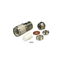 Twinaxial Connector Male 10-Pack
