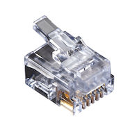 Modular Connector RJ-11 6-Wire For Stranded Wire