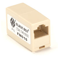 Modular Coupler RJ-45 8-Wire Cross-Pinned
