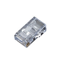 RJ45 Modular Plug For Round Stranded Cable 50-Pack
