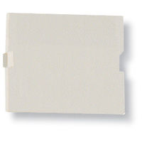 Modular Wallplate Blank Office White 1.5U 5-Pack