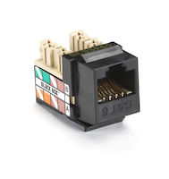Gigatrue Plus CAT6 Keystone Jack - Black