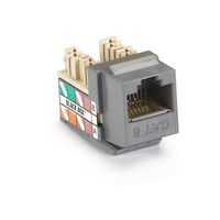 GigaTrue Plus CAT6 Keystone Jack - Gray