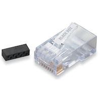 Cat6 Unshielded Modular Plug 10-Pack