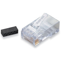 Cat6 Unshielded Modular Plug 25-Pack