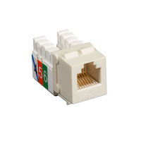 USOC Jack - RJ11, Office White
