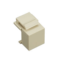 Snap Fitting Keystone Blank Ivory 10-Packs