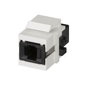 Snap Fitting Keystone MT-RJ Adapter White