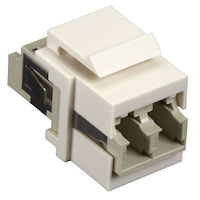 Snap Fitting Keystone LC Adapter Office White
