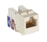 CAT3 Keystone Jack - Unshielded, Office White