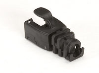 Snap-On Snagless Cable Boot Black 50-Pack