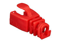 Snap-On Snagless Cable Boot - Red, 50-Pack