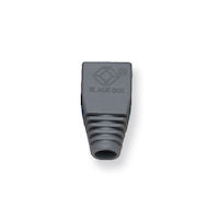 Snagless Cable Boot - Gray, 50-Pack