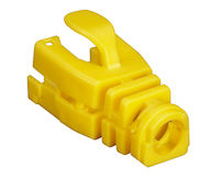 Snap-On Snagless Cable Boot - Yellow, 50-Pack