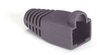 Snagless Cable Boot - Violet, 50-Pack