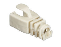 Snap-On Snagless Cable Boot - Beige, 50-Pack