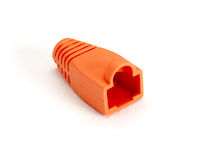 Snagless Cable Boot - Orange, 50-Pack