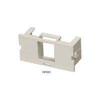 Surface-Mount Housing Adapter Bezel 1-Port Office White