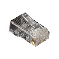 Cat5E Unshielded Modular Plug 25-Pack