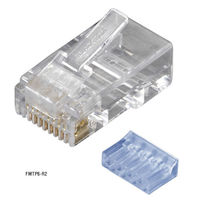 CAT6 Modular Plugs - RJ-45, 100-Pack