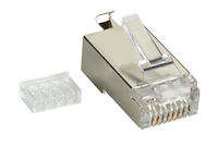 Cat6 Shielded Modular Plug 25-Pack