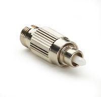 Fiber Optic In-Line Attenuator - Singlemode FC/APC 10 DB