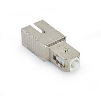 Fiber Optic Inline Attenuator Single Mode SC/APC 15 DB