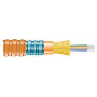 OM1 62.5-Micron Multimode Fiber Optic Bulk Cable - Indoor, Interlocking Armor, Distribution-Style, PE
