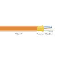 OM1 62.5-Micron Multimode Fiber Optic Bulk Cable - Indoor, Distribution-Style, Plenum, OFNP