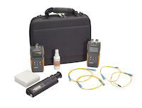 Fiber Test Kit - Single-Mode, 1310/1550nm with Data Logging