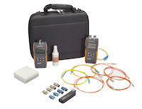 Optical Light Test Set with Data Logging Power Meter - Quad Mode Source, 850/1300/1310/1550 nm