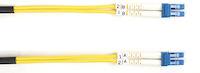 Connect OS2 9/125 Singlemode Fiber Optic Patch Cable - Duplex, OFNR PVC, Yellow