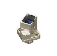 Fiber Optic Adapter SC/FC Multimode Simplex Bronze Square